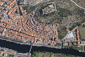 Bosa - An aerial view of Bosa
