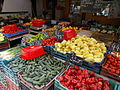 Vegetables. Market. - Vác.JPG