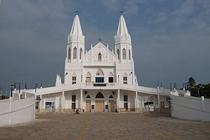 Basilica of Our Lady of Good Health - Image: Veilankanni Church Extn