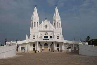 Our Lady of Good Health - Image: Veilankanni Church Extn