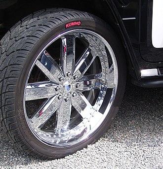 Wheel sizing - Asanti 28 inches wheel on a police Hummer H2 car