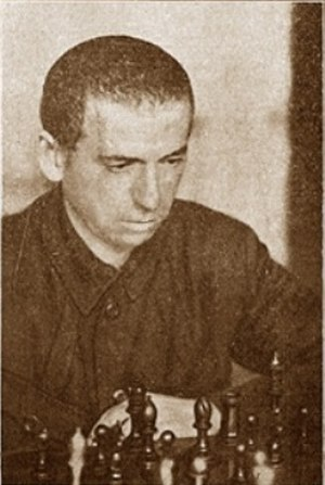 Boris Verlinsky - Boris Verlinsky during the 6th Chess Championship of USSR in 1929