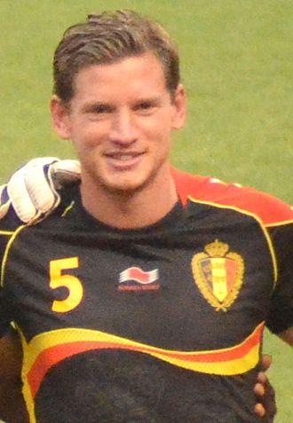 Jan Vertonghen - Vertonghen with Belgium in 2013