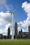 Vestas V27 wind turbine at Great Lakes Science Center.jpg