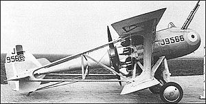 Vickers Type 161 - Image: Vickers 161 side view