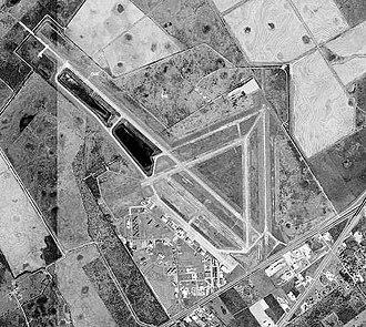 Victoria Regional Airport - USGS 1996 orthophoto