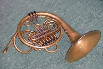 French horn - Vienna horn