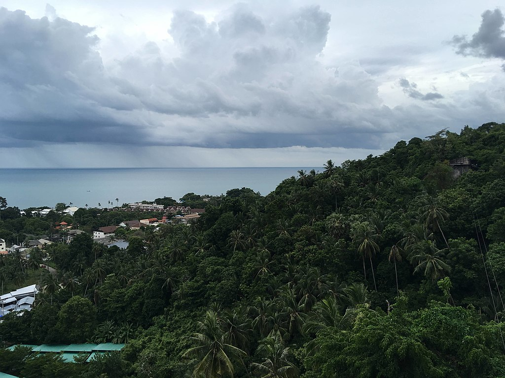 View from Lamai viewpoint 3
