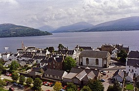 View from the Bell Tower, Inveraray - geograph.org.uk - 665507.jpg