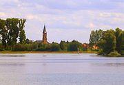View from the Rhine to Rheinhausen.JPG