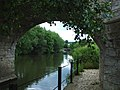 View from under the Bridge at Teston - geograph.org.uk - 69779.jpg