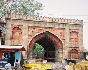 Paharganj - Ajmeri Gate, once Paharganj's access to the walled city