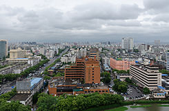 View on Ningbo from Howard Johnson Hotel, Ningbo, Zhejiang 120530.jpg