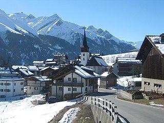 Vignogn Former municipality of Switzerland in Graubünden