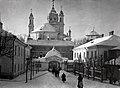 Vilnia, Vastrabramskaja, Duchaŭski-Trajeckaja. Вільня, Вастрабрамская, Духаўскі-Траецкая (J. Bułhak, 1913-15).jpg