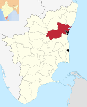 Localisation de District de Viluppuram