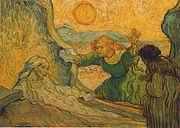 Vincent Van Gogh- La Résurrection de Lazare (d'après Rembrandt)