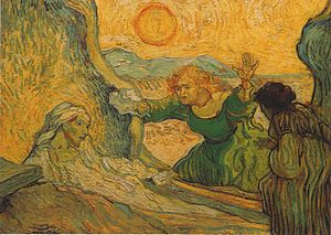 The Resurrection of Lazarus  by Vincent van Go...