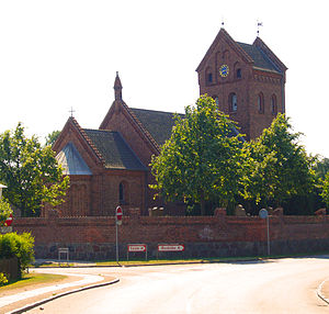 Vindinge, Roskilde Municipality - Vindinge Church