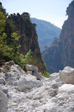 Vyros Gorge - Image: Viros Gorge