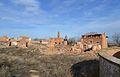 Vista del poble vell de Belchite.JPG