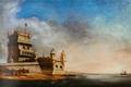 Vista do Tejo com a Torre de Belém - Escola Portuguesa do séc. XIX.png