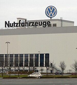 Volkswagen Commercial Vehicles - The Volkswagen Commercial Vehicles assembly plant in Hannover, Germany