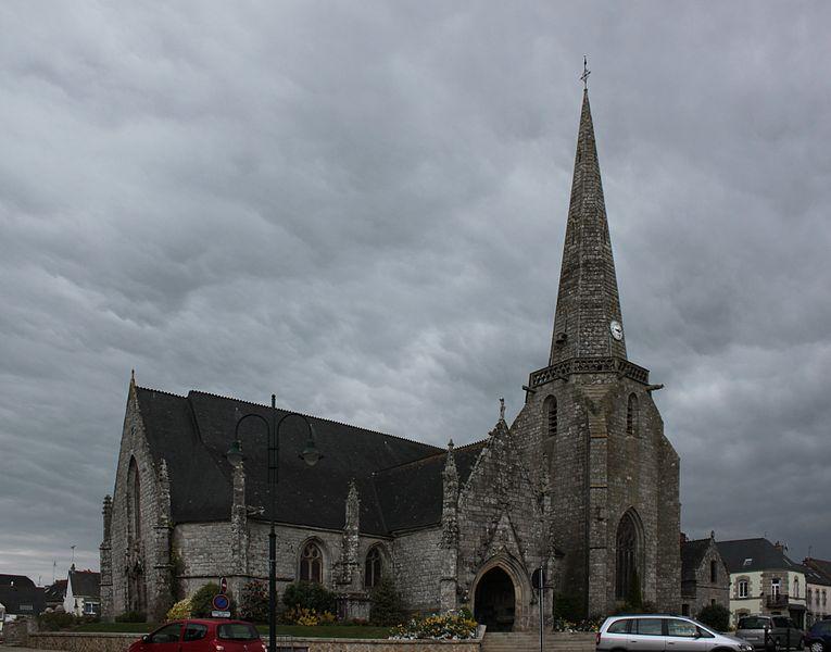 Église Sainte-Noyale, Fr-56-Noyal-Pontivy.