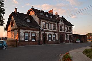 Gołańcz Place in Greater Poland Voivodeship, Poland