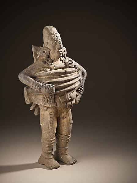 Ceramic Sculpture of a Mesoamerican Ball Player