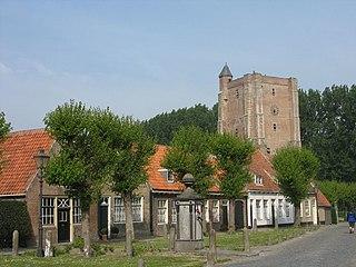 Sint Anna ter Muiden Place in Zeeland, Netherlands