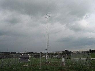 Mesonet - Kentucky Mesonet station WSHT near Maysville in Mason County