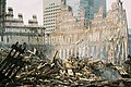 WTC-Wreckage-exterior shell of south tower.jpg