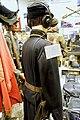 WW2 German Army tank crew uniform Wehrmacht Panzer Lieutenant Oberleutnant uniform headset tunic back etc Lofoten Krigsminnemuseum Norway 2019 0231.jpg