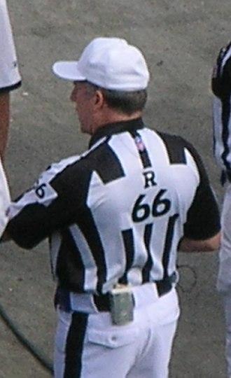 Walt Anderson (American football) - Anderson in November 2008
