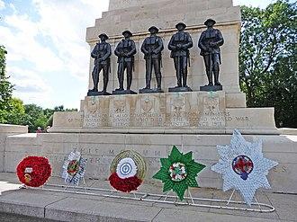 Guards Memorial - Image: War Memorial, Horseguards, London SW1 geograph.org.uk 1409541