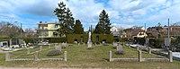 War cemetery for World war II on the cemetery Rodaun in Vienna, Austria-full lower centered-wide PNr°0622.jpg