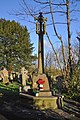 War memorial, St Illtyd's Church, Newcastle, - Bridgend - geograph.org.uk - 1623102.jpg