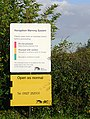 Warning sign by the canal at Alrewas, Staffordshire - geograph.org.uk - 1563882.jpg