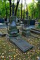 Warszawa Reduta Wolska - cmentarz prawosławny - nagrobek z 1882 roku.JPG