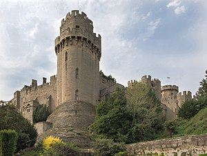 Warwick Castle - Caesar's Tower was built between 1330 and 1360.