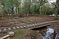 Warwickslade Cutting, bridging the new stream - geograph.org.uk - 1560148.jpg