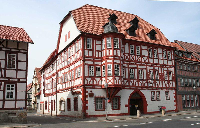 Rathaus in Wasungen, Landkreis Schmalkalden-Meiningen