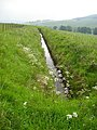 Water Channel on Hillside Above River Carron - geograph.org.uk - 463524.jpg