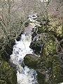 Waterfall, Sleddale Beck - geograph.org.uk - 294790.jpg