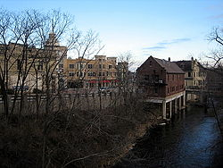 Village of Wauwatosa along the banksof the Menomonee River
