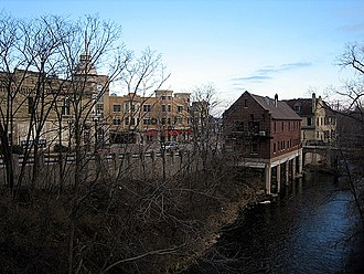 Wauwatosa, Wisconsin - Wauwatosa along the banks of the Menomonee River
