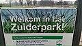 Welkom in het Zuiderpark sign, Charlois, Rotterdam (2021) 02.jpg