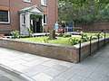Well kept garden at entrance to St Ann's, Portsmouth Dockyard - geograph.org.uk - 899934.jpg