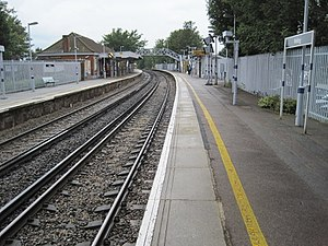 Welling railway station - Image: Welling railway station, Greater London